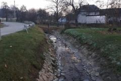 Čistenie potoka Držkovo – október – november 2020