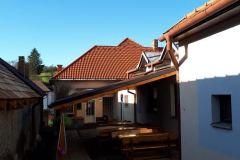 Rekonštrukcia strechy kultúrneho domu -  apríl, máj 2019